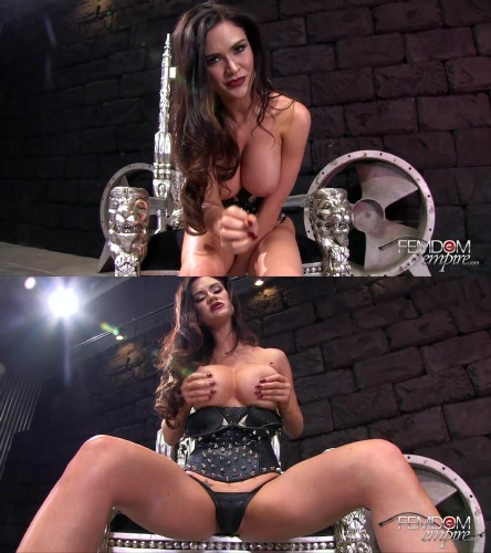 Kendall Karson – Stroke for your cum tribute (2015/Femdom/FullHD)