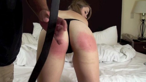 Christy Cutie – Rise and Spank – Belt Whipping Christy (2015/Spanking/SD)