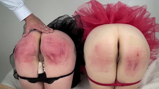 Christy, Shawna – BUBBLE BUTTS PURPLE PADDLING [SD 480p] [Spanking]