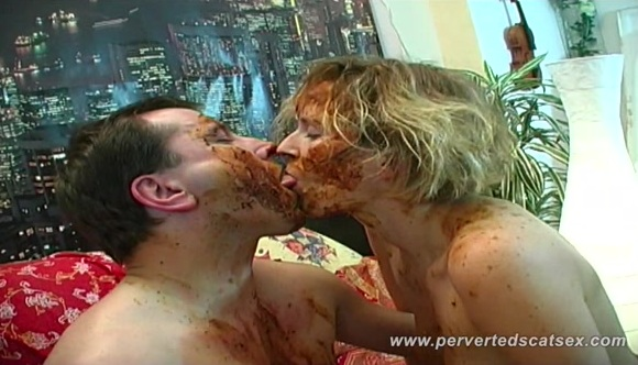 Susan and Marc Shit Games Part 2 – susanmarc2 [HD] – PervertedScatSex.com